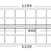 fleksibilna solarna celica 100W 3