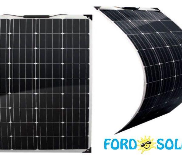 fleksibilna solarna celica 160W