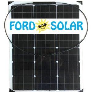 fleksibilna solarna celica 80W
